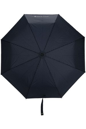 MACKINTOSH Paraply med polkaprikket tryk