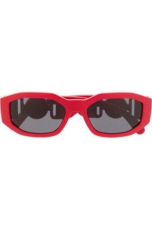 VERSACE Solbriller - Rektangulære solbriller med logoplade
