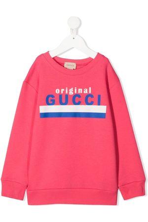 Gucci Drenge Sweatshirts - Original Gucci printed sweatshirt