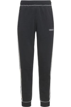 adidas Mænd Joggingbukser - Contrast Stitch Cotton Blend Sweatpants