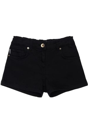 Moschino Toy Print Cotton Sweat Shorts