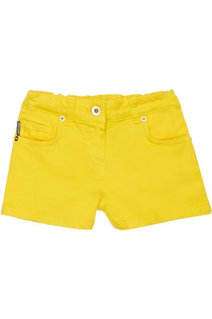 Moschino Piger Shorts - Toy Print Cotton Sweat Shorts