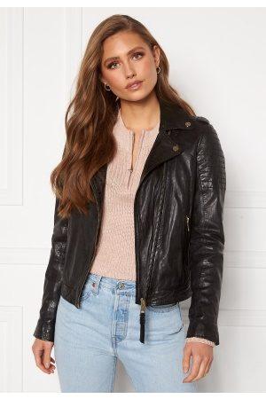 ROCKANDBLUE Kvinder Skindjakker - Cinnamon Jacket black 36