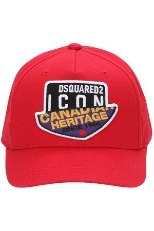 Dsquared2 Piger Kasketter - Cotton Gabardine Baseball Hat
