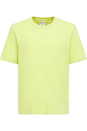 Bottega Veneta Mænd Kortærmede - Sunrise Light Cotton Jersey T-shirt