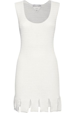 Bottega Veneta Kvinder Festkjoler - Knit Mesh Sleeveless Mini Dress