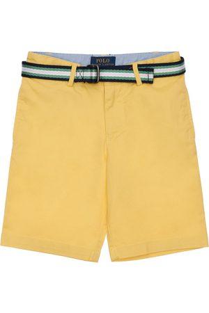 Ralph Lauren Stretch Cotton Twill Shorts