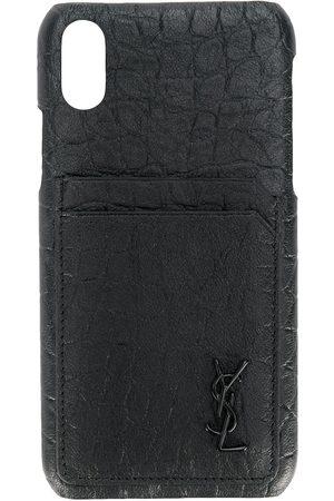 Saint Laurent Mænd Mobil Covers - IPhone 10 cover med fashion-prægning