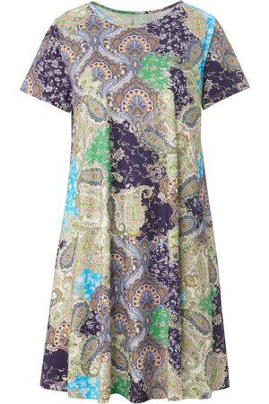 Green Cotton Kvinder Casual kjoler - Jerseykjole i 100% bomuld Fra beige