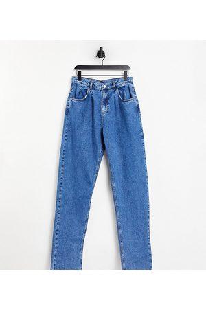 Reclaimed Vintage Inspired - '83 - Unisex-jeans i vintage-blå i afslappet pasform