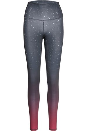 Moonchild Yoga Wear Kvinder Leggings - Printed Leggings Leggings Blå