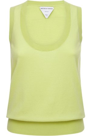 Bottega Veneta Kvinder Strik - Cashmere Knit Sleeveless Top
