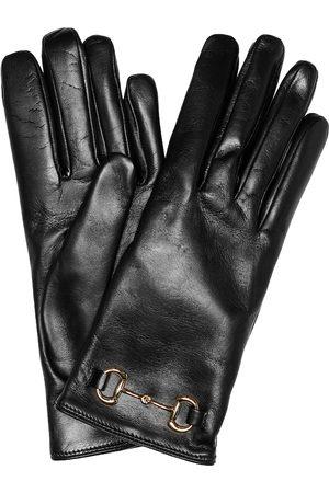 Gucci Kvinder Handsker - Horsebit leather gloves