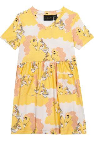 Mini Rodini Unicorn Noodles printed dress