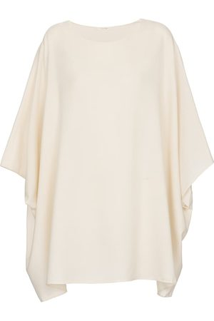 The Row Estela silk blouse