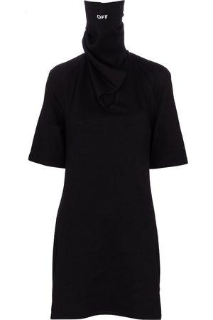 OFF-WHITE Kvinder Casual kjoler - Bandana cotton jersey minidress