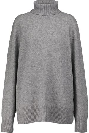 The Row Kvinder Strik - Stepny wool and cashmere turtleneck sweater