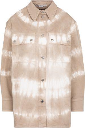 Stella McCartney Tie dye denim shirt jacket