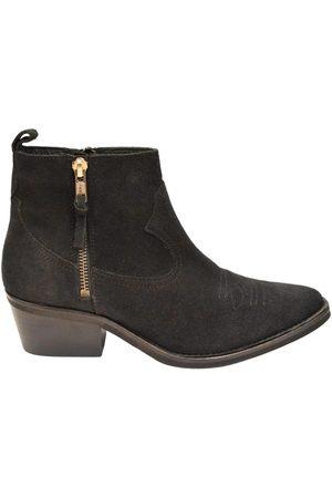 Copenhagen Shoes Kvinder Cowboystøvler - RUSKIND COWBOY 2/LYN