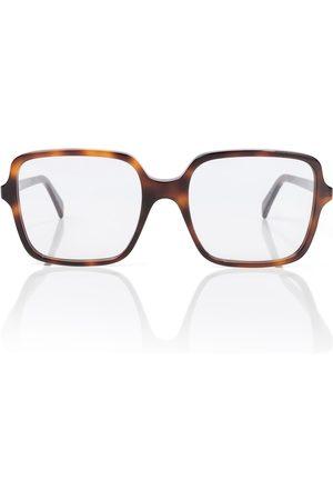 Céline Square acetate glasses