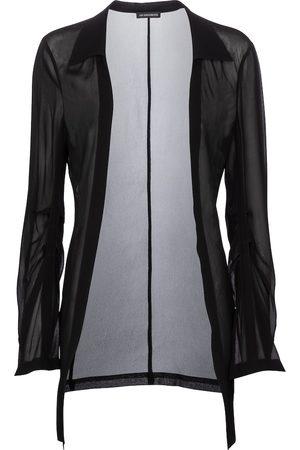 ANN DEMEULEMEESTER Sheer jacket