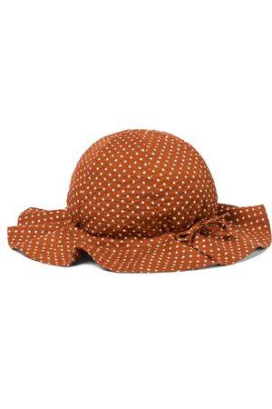 Caramel Piger Hatte - Marlin cotton sun hat