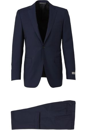 CANALI Mænd Jakkesæt - Pinstripe Wool Suit