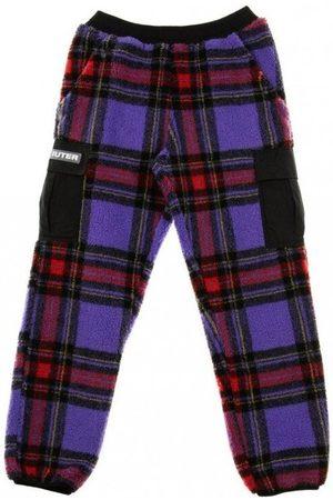 IUTER Lang Furry Tartan Pants