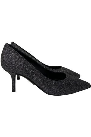 Pollini Decolletè Glitter Black