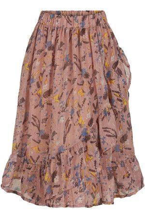 Creamie Skirt Flowers Chiffon (821635)