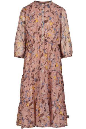 Creamie Dress Flowers Chiffon 3/4 Sleeves (821600)