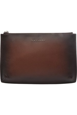 Orciani LEATHER WALLET MICRON DEEP