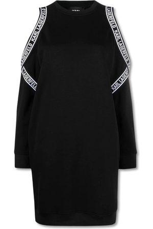 Karl Lagerfeld Kvinder Casual kjoler - Cold Shoulder Sweat Dress