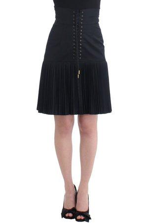 Roberto Cavalli Kvinder Plisserede nederdele - Pleated Laced Skirt