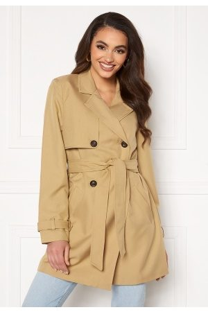 Vero Moda Celeste 3/4 Trenchcoat Travertine S
