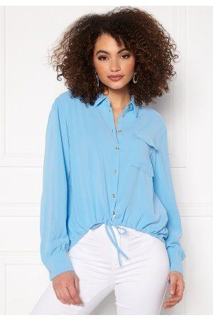 Pieces Kvinder Casual - Grayson LS Shirt Little Boy Blue L