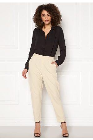 Object Kvinder Slim bukser - Lisa Slim Pant Sandshell 36