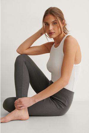 NA-KD Kvinder Tights - Højtaljede Bløde Strømpebukser I Genanvendt Materiale