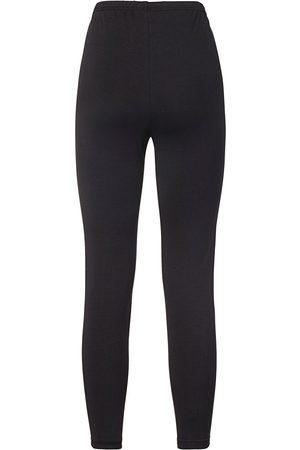 Green Cotton Kvinder Leggings - Formfaste leggings Fra