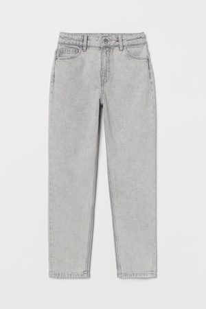 H&M Piger Straight - Relaxed Fit High Jeans