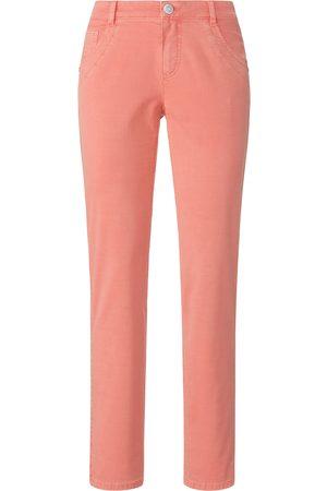 DAY.LIKE Kvinder Bukser - Buks 5 lommer i bomuldsstretch Fra rød