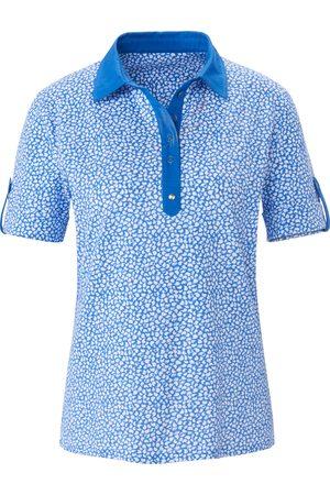 Peter Hahn Kvinder Poloer - Poloshirt korte ærmer Fra blå
