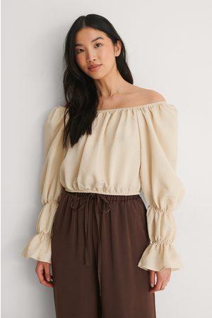 Trendyol Kvinder Kortærmede - Off Shoulder Bluse