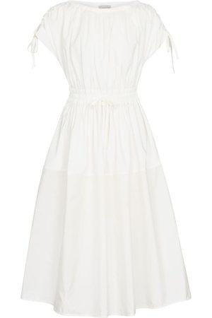 Moncler Kvinder Midikjoler - Short sleeved midi dress