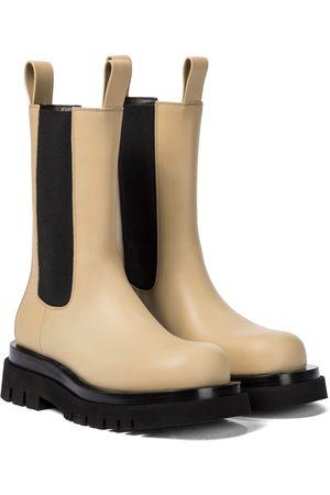 Bottega Veneta BV Lug leather ankle boots