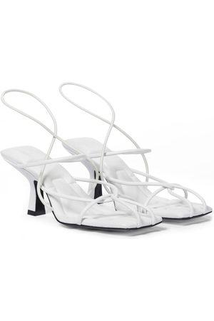 Khaite Kvinder Sandaler - Monza leather sandals