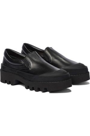 Proenza Schouler Slip-on leather platform loafers