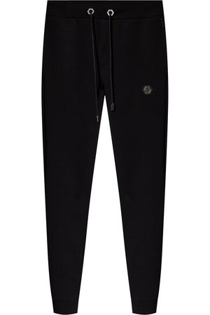 Philipp Plein Logo-patched trousers