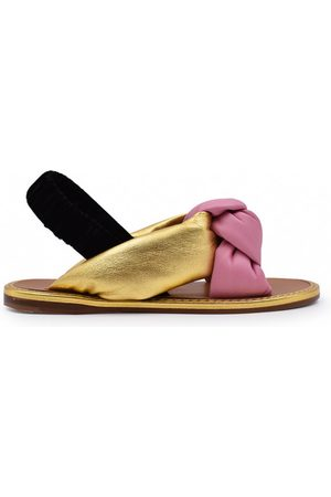 Miu Miu Kvinder Sandaler - Tied sandals