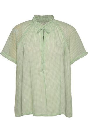 Birgitte Herskind Lakiin Blouse Blouses Short-sleeved